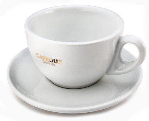 Carroux Milchkaffee Tasse