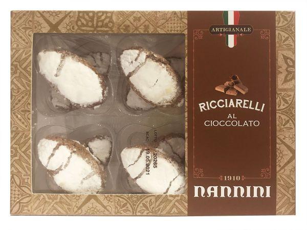 Nannini Ricciarelli mit Schokolade
