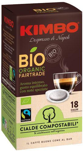 Kimbo ESE Bio Fairtrade Espresso Pad