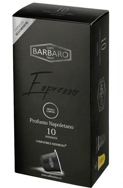 Barbaro Nespresso®*-kompatible Kapseln Corposo