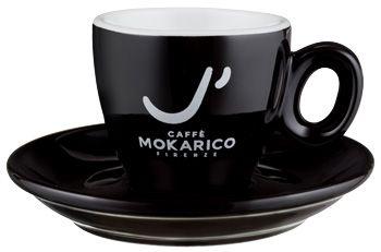 Mokarico Espressotasse - schwarz