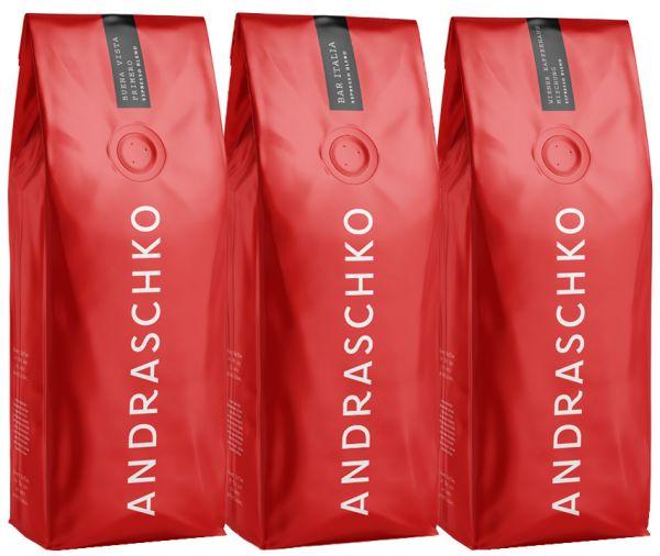 Andraschko Probierset Espresso Kaffee