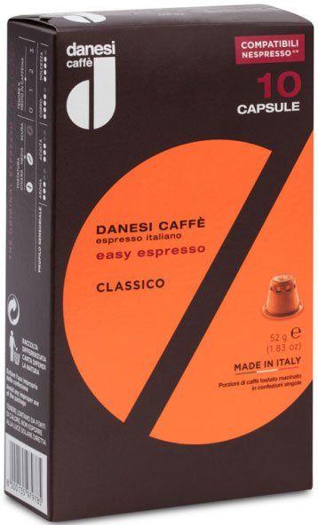 Danesi Classico Nespresso®*-kompatible Kapseln
