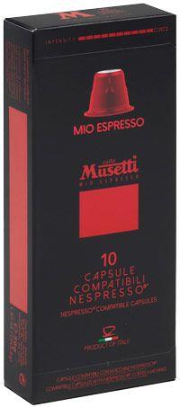 Musetti Mio Nespresso kompatible kapseln