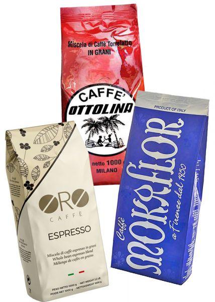 Espresso Probierset 50/50 Mischung