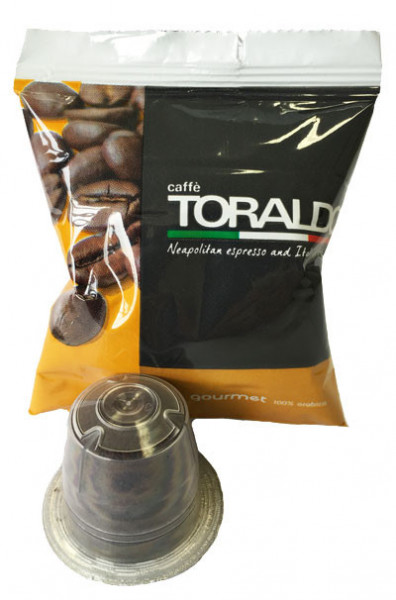 100 Toraldo Gourmet Nespresso®* kompatible Kapseln