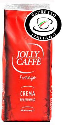 Jolly Kaffee Crema Bohne - Espresso Italiano