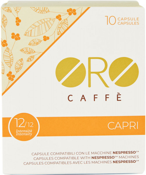 Oro Caffe Capri Nespresso Kapsel