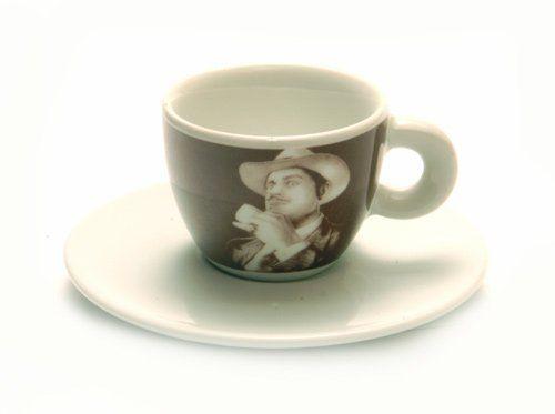 Lucaffe Espressotasse, weiß, Der Pate