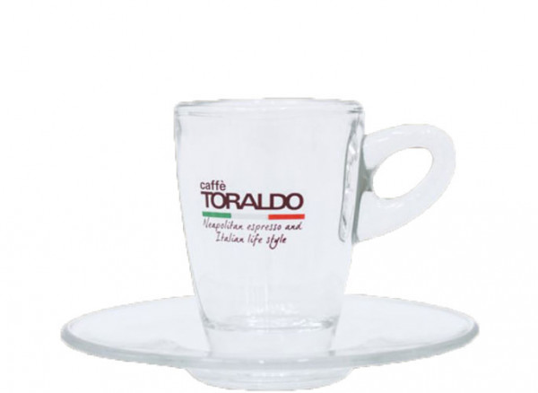 Toraldo Espresso Tasse Glas