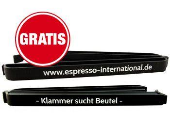 Frische-Klammer für Kaffeebeutel