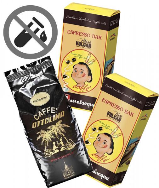 Probierset Säurearme Espressokaffees