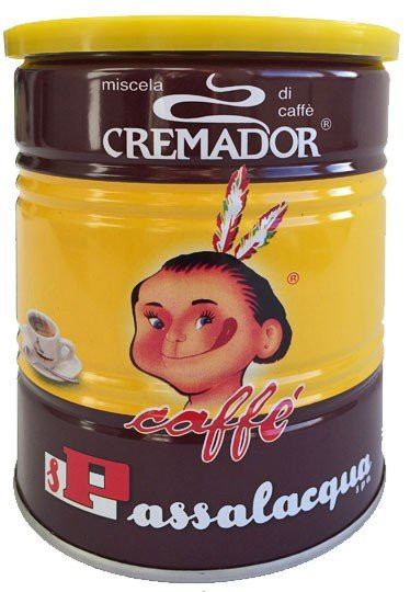 Passalacqua Cremador gemahlen Espresso 250g