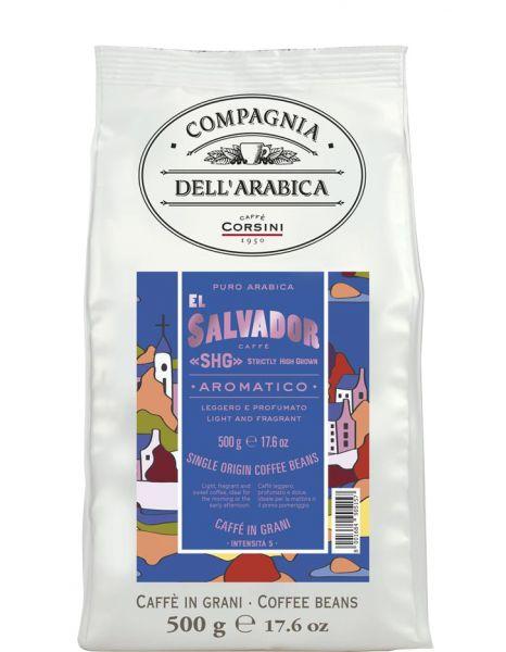 Compagnia dell'Arabica Kaffee El Salvador 500g Bohne