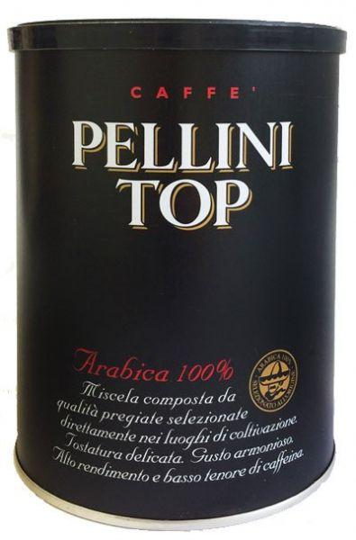 Pellini Kaffee Top 100% Arabica gemahlen