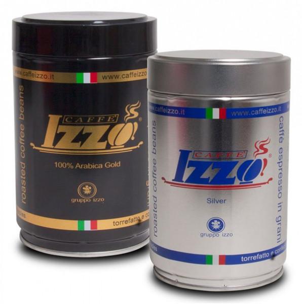 IZZO Espresso Gold und Silver Bohnen