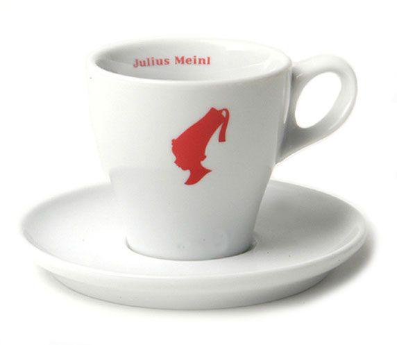 Julius Meinl Melange Tasse weiß