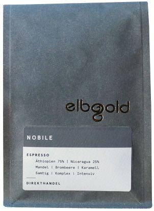Elbgold Nobile Espresso   1000g ganze Bohne