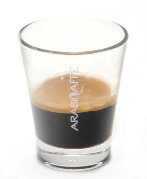 Arabicaffe Espresso Glas