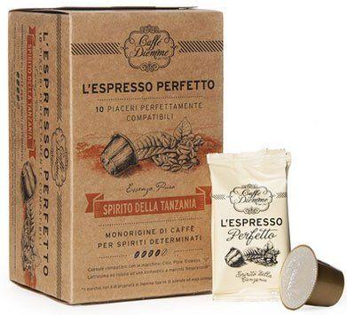 Diemme Spirito della Tanzania - Nespresso®* kompatible Kapseln
