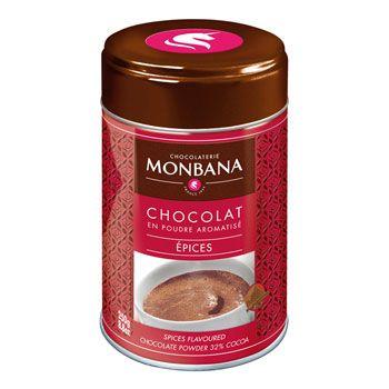Monbana Scholadenpulver mit Gewürzgeschmack