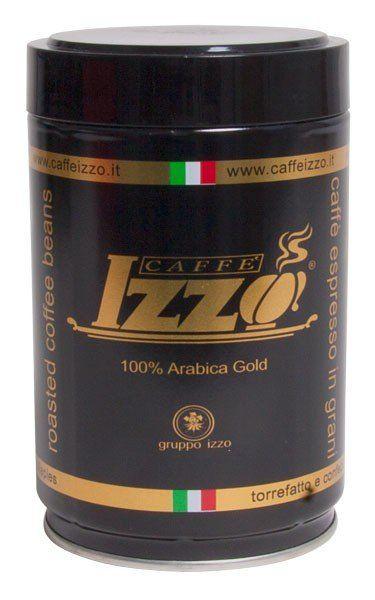 IZZO Gold - 100% Arabica   Bohne 250g