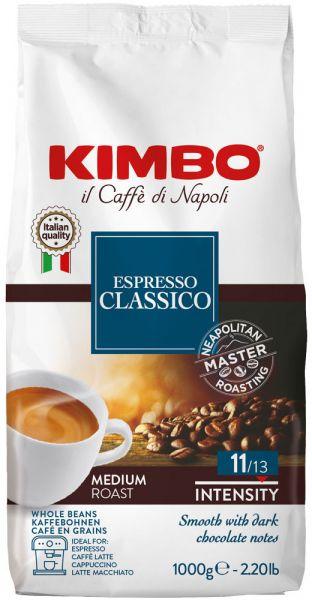 Kimbo Espresso Kaffee Classico 1000g Bohne