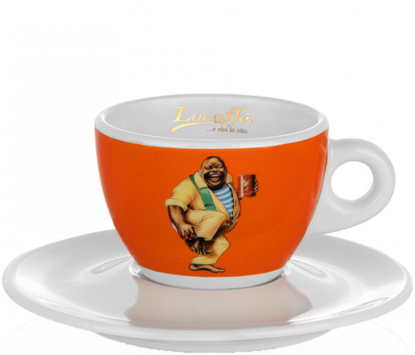 Lucaffe Cappuccinotasse Orange