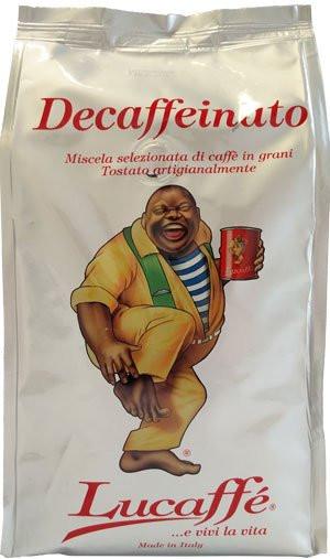 Lucaffe Kaffee Espresso Decaffeinato Koffeinfrei, 700g Bohnen