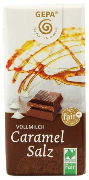 GEPA BIO Schokolade Caramel Salz