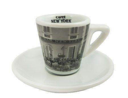 Caffe New York Espressotasse Bar-Motiv