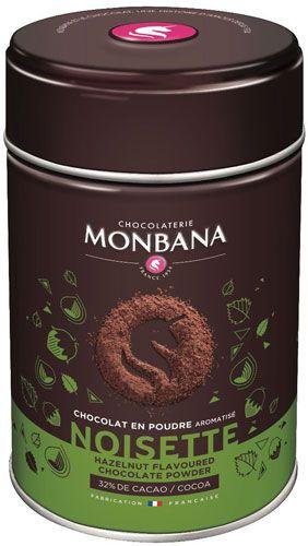 Haselnuss Trinkschokolade Monbana
