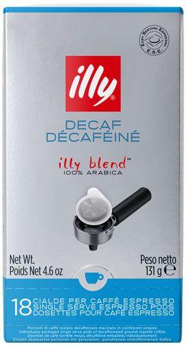 illy SINGLE ESE Espresso Pads, entkoffeiniert