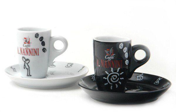 Nannini Espressotassen Black and White