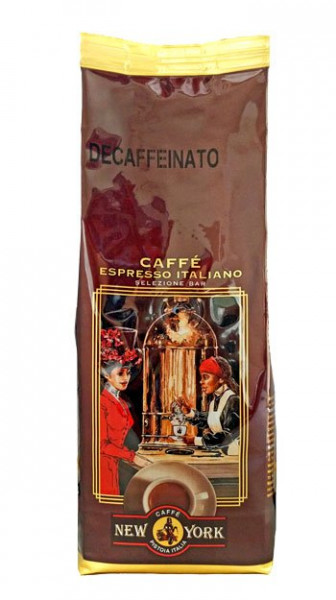 Caffe New York Espresso entkoffeiniert (Bohnen 250g)