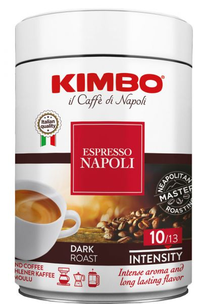 Kimbo Kaffee Napoletano Espresso gemahlen