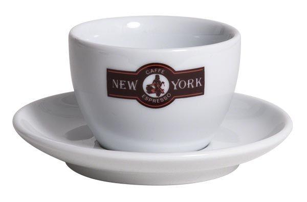 Caffé New York Cappuccino Tasse, weiß
