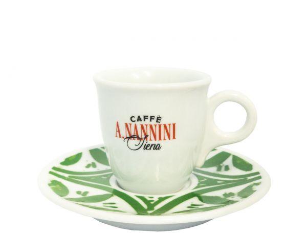 Nannini Espresso Tasse Gruen
