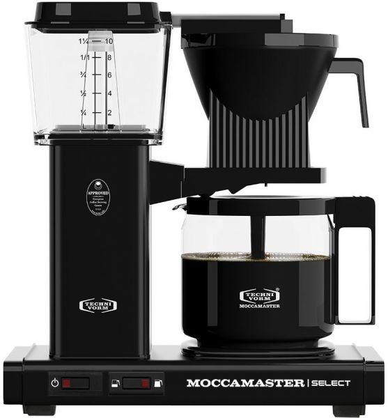 Moccamaster Kaffeemaschine Schwarz