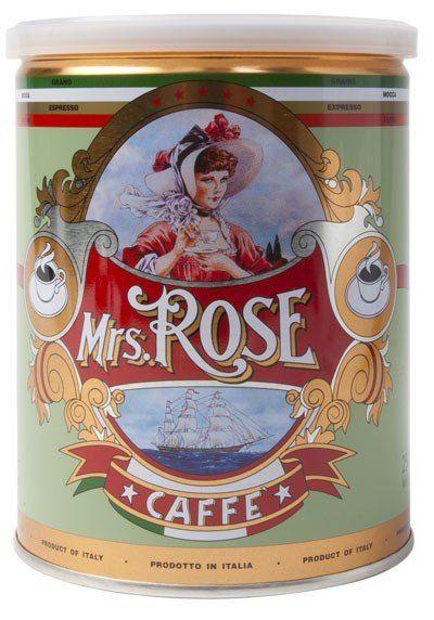 Mrs. Rose Espresso Kaffee 250g, Moka Mahlung