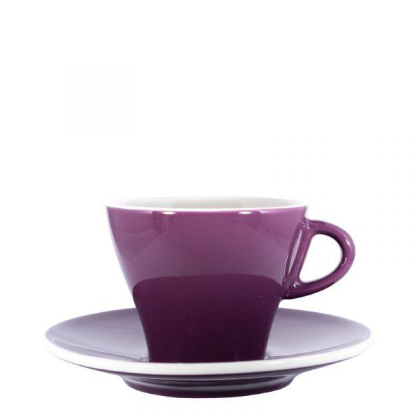 Club House Cappuccinotasse Violett
