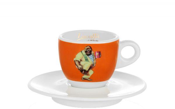 Lucaffe Espresso Tasse Orange