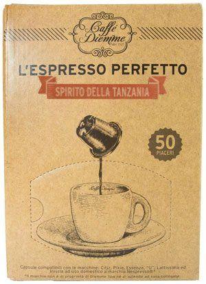 Diemme Nespresso kompatible Kapseln - Spirito della Tanzania
