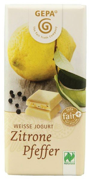 GEPA BIO Schokolade Zitrone Pfeffer