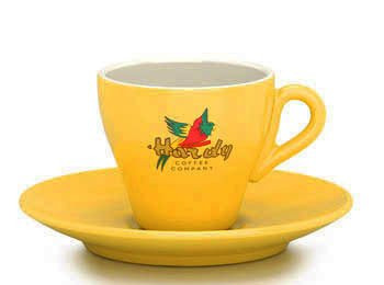 Hardy Espresso Tasse gelb