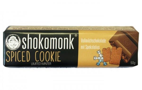 Shokomonk - Vollmilch-Schokolade mit Spekulatius