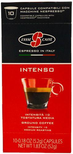 Essse Caffè Nepsresso kompatible Kapseln | 10 Stück im Dispenser