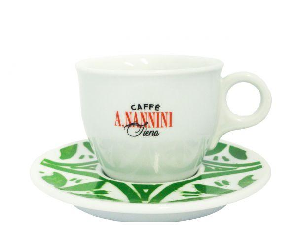 Nannini Kaffee Cappuccinotasse Gruen