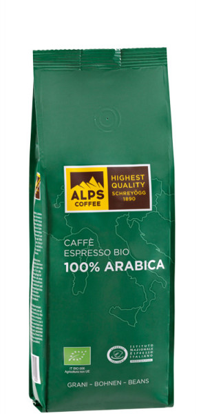 Shreyögg Alps Coffee Bio Espresso 100% Arabica