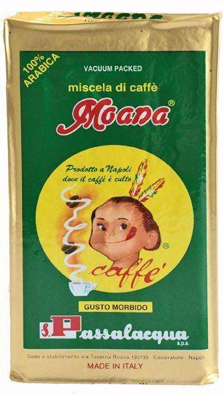 Passalacqua Moana gemahlen Espresso 250g